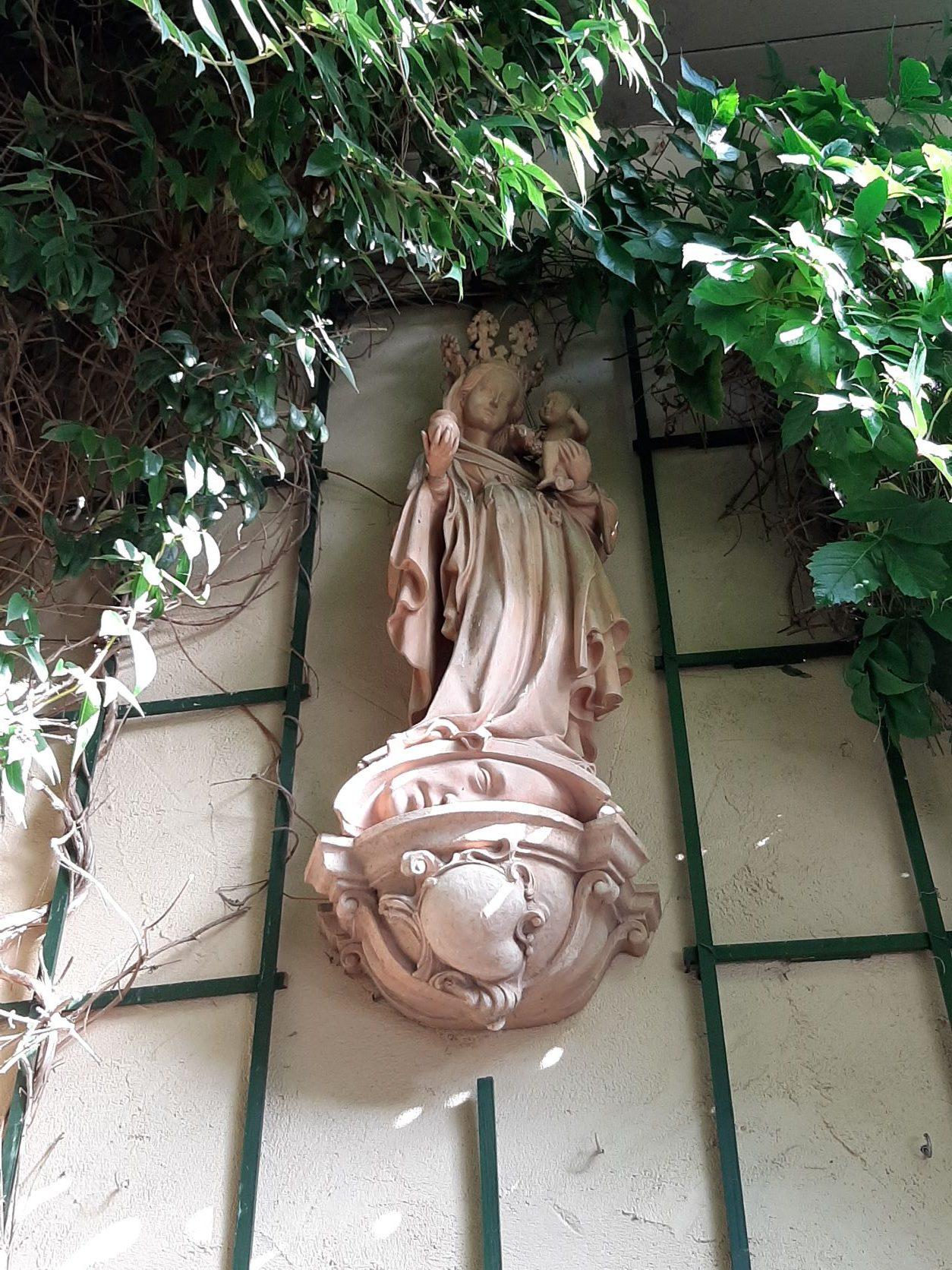 Kopie der Hallgartner Madonna, nach Adam Winter von Katharina Maria Solga
