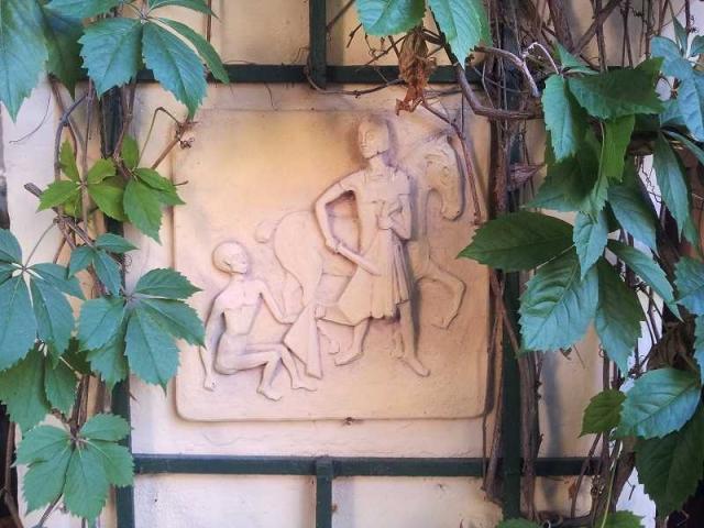 Relief St. Martin von Matthäus Solga.