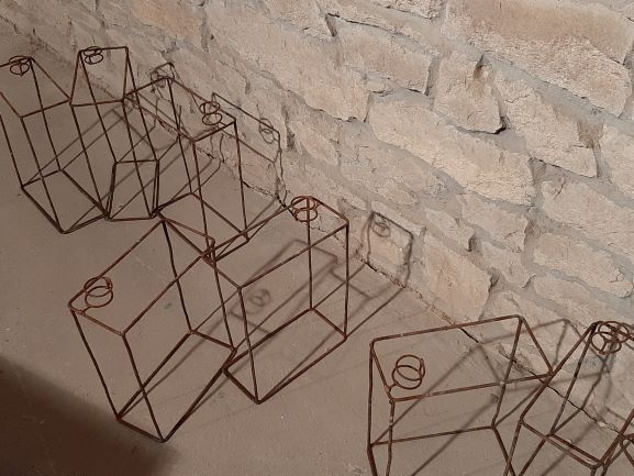 Ulrich Schreiber: Kanister, 8 Stück, 2003