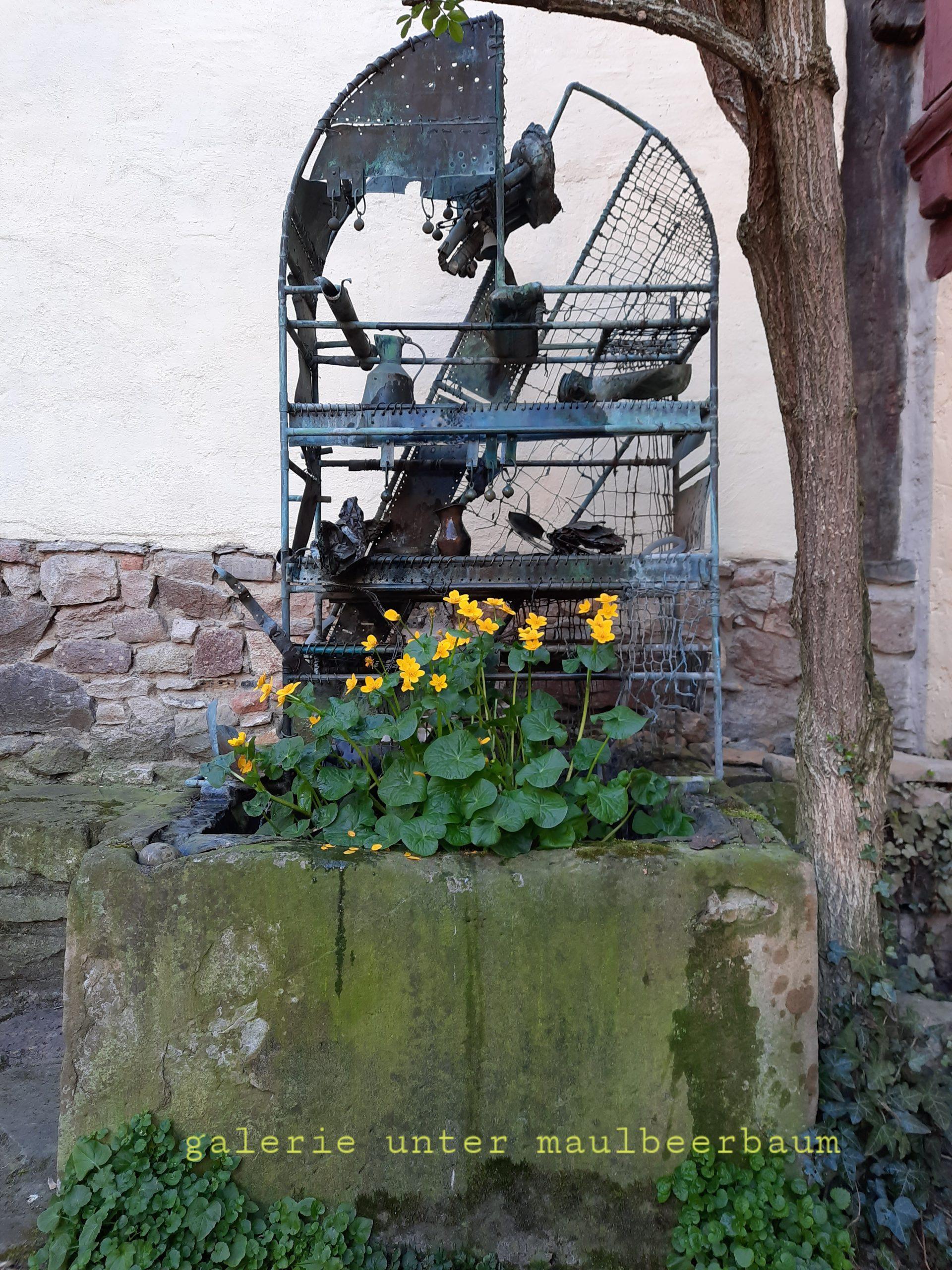 Innenhof Brunnen von Jazzeck Rybczynski
