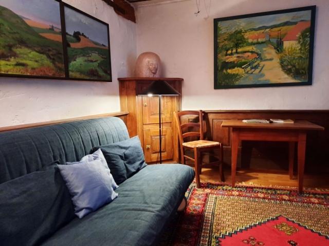 Badenheim Ferienwohnung Wohnzimmer